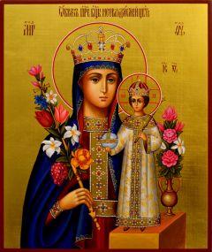 Рукописная икона Неувядаемый Цвет 15