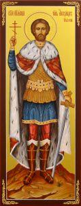 Мерная икона Александр Невский 5
