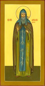 Рукописная икона Антоний Дымский