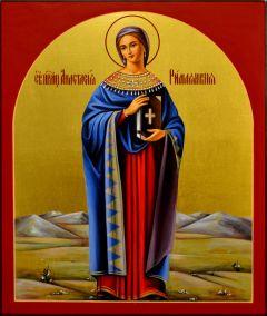Рукописная икона Святая Анастасия Римляныня