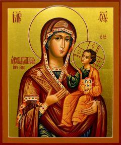 Рукописная икона Якобштадтская