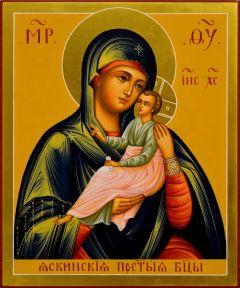 Рукописная икона Яскинская