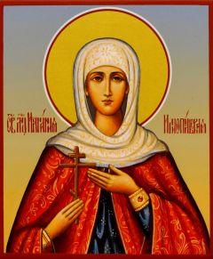 Рукописная икона Иулиания Илиопольская