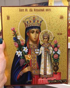 Рукописная икона Неувядаемый Цвет 37