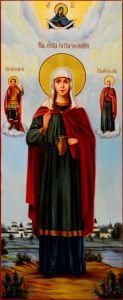 Мерная икона Фотиния Самаряныня масло