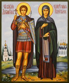 Рукописная семейная икона 84