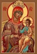 Рукописная Аризонская икона Божией Матери