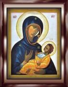Рукописная икона Божией Матери Аристократуса