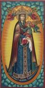 Рукописная икона Благодатное Небо