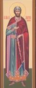 Рукописная икона Святой Дмитрий Донской