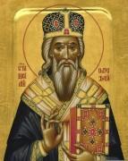 Рукописная икона Василий Острожский