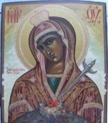 Рукописная икона Васильковская Божия Матерь