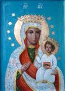 Рукописная икона Васьковская Божия Матерь