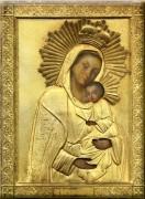 Рукописная икона Воргольская Божия Матерь