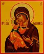 Рукописная икона Владимирская 16 (Размер 13*16 см)