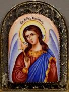 Икона из финифти Ангел Хранитель 2 (Размер 8*11 см)