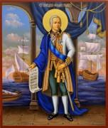 Рукописная икона Феодор Федор Ушаков 9 (Размер 21*25 см)