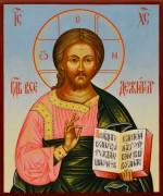 Рукописная икона Спас Вседержитель 30 (Размер 13*16 см)