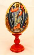 Пасхальное яйцо рукописное Воскресение Христово 3