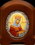 Икона из финифти Елена царица (Размер 11*14 см)