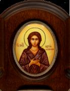 Икона из финифти Мария Египетская (Размер 11*14 см)