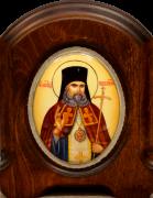 Икона из финифти Лука Крымский (Размер 11*14 см)