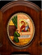 Икона из финифти Нечаянная Радость (Размер 11*14 см)