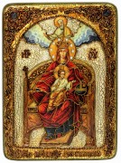 Икона ручной работы Державная Божия Матерь