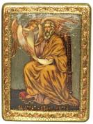 Икона Апостол Матфей с камнями
