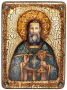 Икона ручной работы Иоанн Кронштадтский