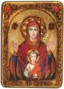 Икона Знамение с камнями