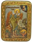 Икона ручной работы Иоанн Предтеча Креститель с камнями