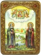 Икона ручной работы Петр и Феврония
