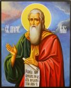 Рукописная икона Илия Пророк 5