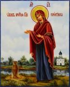 Рукописная икона Геронтисса масло