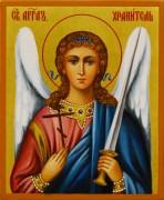 Рукописная икона Ангел Хранитель 65 (Размер 9*10.5 см)