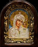 Икона из бисера Казанская 4
