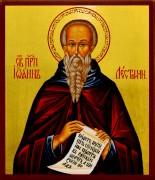 Рукописная икона Иоанн Лествичник
