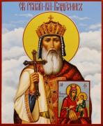Рукописная икона Владимир Равноапостольный 9