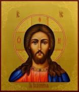 Рукописная икона Спас Вседержитель 38