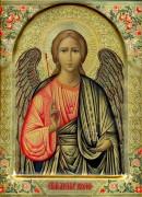 Рукописная икона Архангел Михаил 20