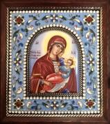 Икона из финифти Утоли моя печали