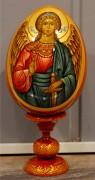 Пасхальное яйцо рукописное Ангел Хранитель