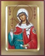 Рукописная икона Татиана (Татьяна) Римская мученица