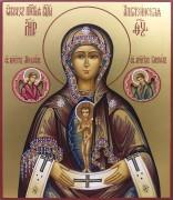 Рукописная Албазинская икона Божией Матери