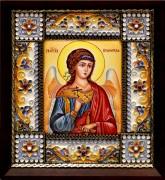 Икона из финифти Ангел Хранитель (Размер 14*16 см)