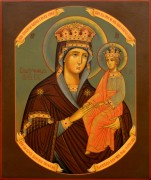 Рукописная икона Споручница грешных 5
