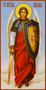 Рукописная икона Архангел Михаил 21