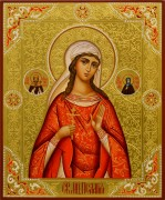 Рукописная икона Пелагея Тарсийская 6