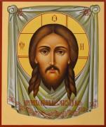 Рукописная икона Спас Нерукотворный 38